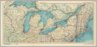 United States Atlas Map by United States Of America Great Lakes Pergamon World Atlas