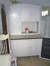 furniture brown wooden hoosier cabinet with transparent handle