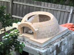 How To Build An Igloo In Your Backyard - building a wood fired pizza oven youtube
