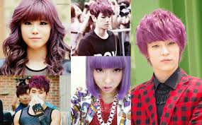 7 vibrant k pop idol hair colors that create a beautiful rainbow