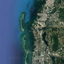 satellite map of florida map of ta florida united states area and