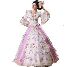 antoinette costume xnaihuafei women s antoinette 17 18th century rococo baroque