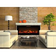 electric fireplace heater home depot regal flame inch crystal