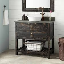 distressed wood bathroom cabinet picture 3 of 50 distressed wood bathroom vanity awesome 36
