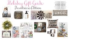 a little lovely gift guide for farmhouse decor friends