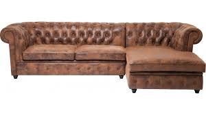 canapé marron vieilli canape cuir marron vieilli