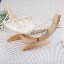 brand new 100 pure wooden cat nest breathable washable cat bed