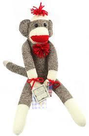 Sock Monkey Baby Bedding Amazon Com The Original Sock Monkey U2013 Featuring Classic Button