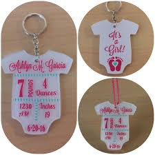 baby keychain baby announcement keychain something you can keep on your