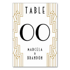 what size are table number cards create your own numbers table table cards place cards zazzle