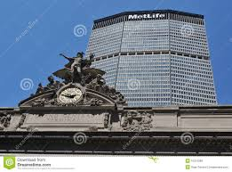 Grand Central Terminal Map Grand Central Terminal And Metlife Building Editorial Stock Photo