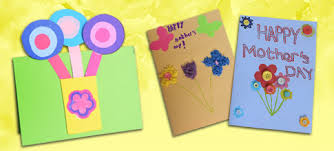 Card Making For Children - mother u0027s day card ideas the consortium education