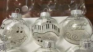 music themed christmas decorations music themed christmas canvas