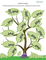 word family worksheets lovetoknow