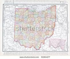 map usa ohio ohio map stock images royalty free images vectors