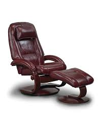 Swivel Recliner Chairs by Oslo 52 Series Merlot Swivel Recliner W Ottoman 52 L03 09 625