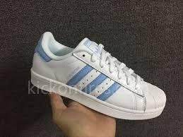 adidas superstar light blue adidas superstar light blue stripes supers10815 100 00
