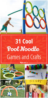 31 cool games and crafts using pool noodles tip junkie