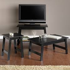 sauder coffee and end tables winning sauder soft modern coffee table walnut finish with white