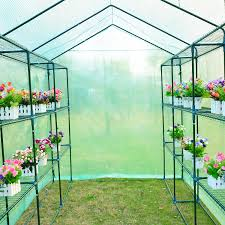 8 u0026 039 x6 u0026 039 x7 u0026 039 outsunny greenhouse gardening portable