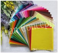Best Sheet Fabric Diy Polyester Felt Fabric Non Woven Sheet For Craft Work