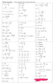 mcat study guide pdf physics equation sheet mcat