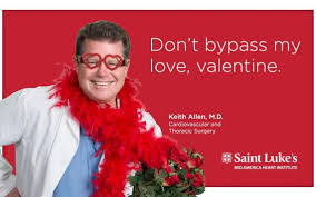 St Valentine Meme - saint luke s cardiologists star in heart healthy valentine s day