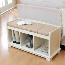 Cushion Top Storage Bench by Brilliant Ideas Of Bench Storage Bench Cushion Badger Basket