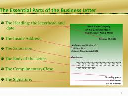Business Letter Format Cc Before Enclosure Session 3 Bus Com