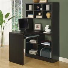 desk with shelves on side monarch specialties i 702 left or right side shelf desk lowe s canada