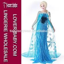 Anna Elsa Halloween Costumes Frozen Princess Anna Costume Cosplay Frozen Princess