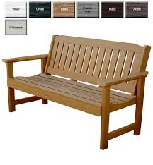 outdoor garden benches outdoor poly furniture better than wood