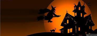 Facebook Profile Decoration Scary Orange Halloween Hourse Nature Fb Facebook Profile Timeline