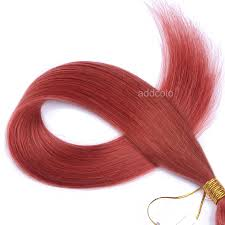 Hair Extensions U Tip by Addcolo 10a U Tip Hair Extensions Brazilian Hair Colorful