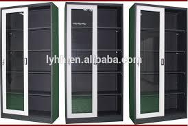 Vhs Storage Cabinet Sliding Glass Door Cd Dvd Vhs Storage Rack Cabinet Media