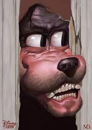 Goofy Face Meme - heeeeeere s goofy here s johnny know your meme