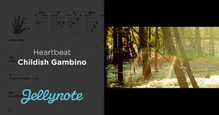 heartbeat chords u0026 lyrics childish gambino