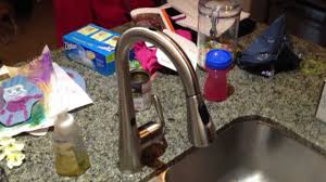 moen arbor with motionsense faucet in use youtube