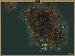 Map Of Nirn Image Caldera Map Morrowind Png Elder Scrolls Fandom