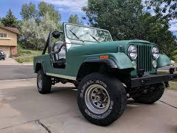 jeep cj8 mbb build list
