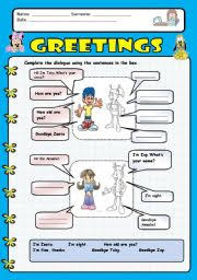 english worksheets greetings 1 greetings pinterest