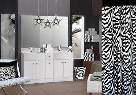 Pink Black And White Shower Curtain Pink And Black Zebra Shower Curtain 18 Hd Wallpaper