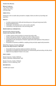 beautiful outside sales resume gallery simple resume office