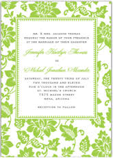 green wedding invitations template best template collection