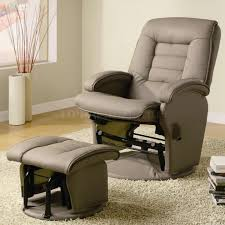 Recliner Chair With Ottoman Swivel Recliner Chair With Ottoman Armchair Lounge Seat With