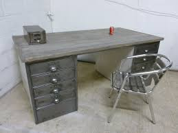 Vintage Metal Office Desk Ideas Metal Office Desk Thedigitalhandshake Furniture