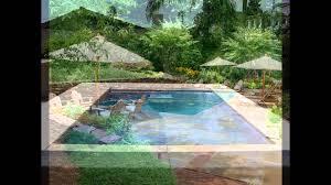 Backyard Pools Walmart by Rectangular Swimming Pool Designs Ideas Spa Landscaping Above