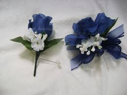 royal blue corsage and boutonniere popular prom flowers with prom corsage and boutonniere designs by