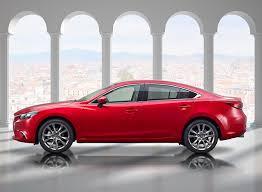 autos mazda 2015 mazda 2015 sedan 6 gj limousine rot autos seitlich