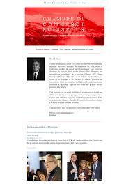chambre de commerce suisse newsletter chambre de commerce suisse pour la belgique et le